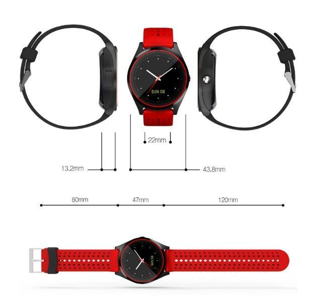 Sports SmartWatch V9 For Android & IOS