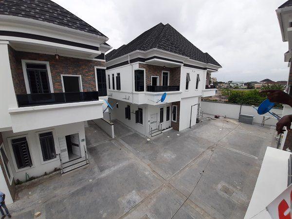 4bedroom duplex for sale at oral estate lekki