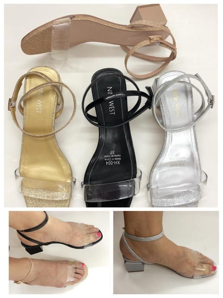 Low-heeled Sandals