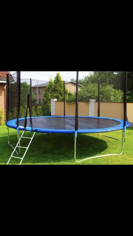 Trampoline for kids with Enclosure Net and Spring Cover Padding, Outdoor Trampoline Fun Summer Exercise Fitness Toys for Adult Kids Indoor/Outdoor