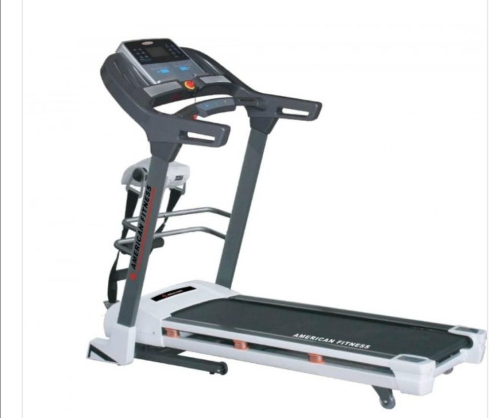 2hp treadmill with massager inclination and other accessories