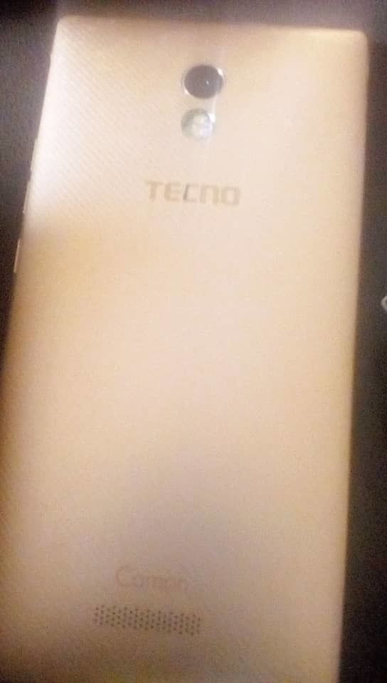 fairly used Tecno camon 9 for sale nothing to fixed