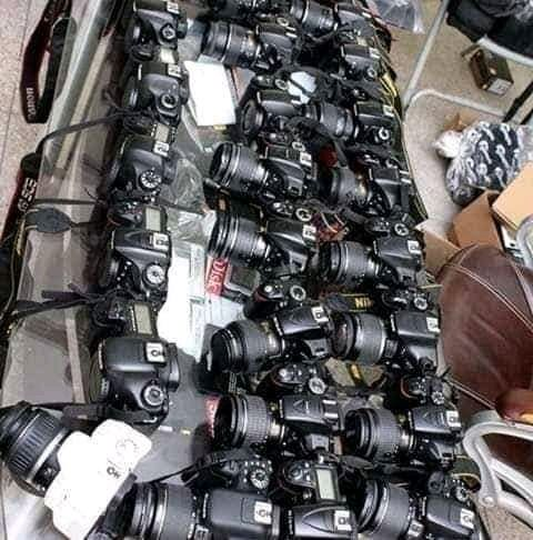 Canon camera available