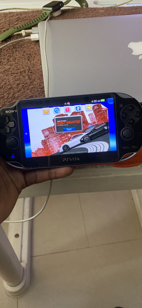 Play station vita..new and with 5 games in it and a memory of 16G