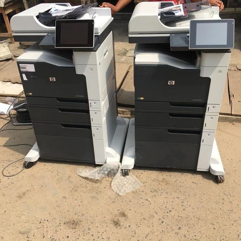 Direct German used 3in1 Hp laserjet MFP m772dn printer