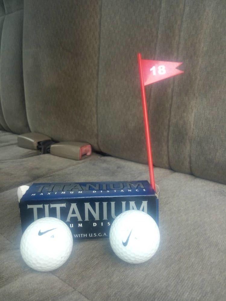 Golf Sticks and Balls
